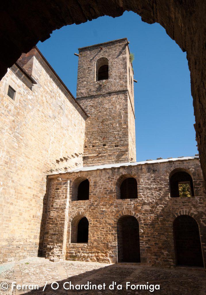 Real Monasterio de San Victorián. Patrimonio Sobrarbe. Pirineos. Huesca. O Chardinet d'a Formiga.