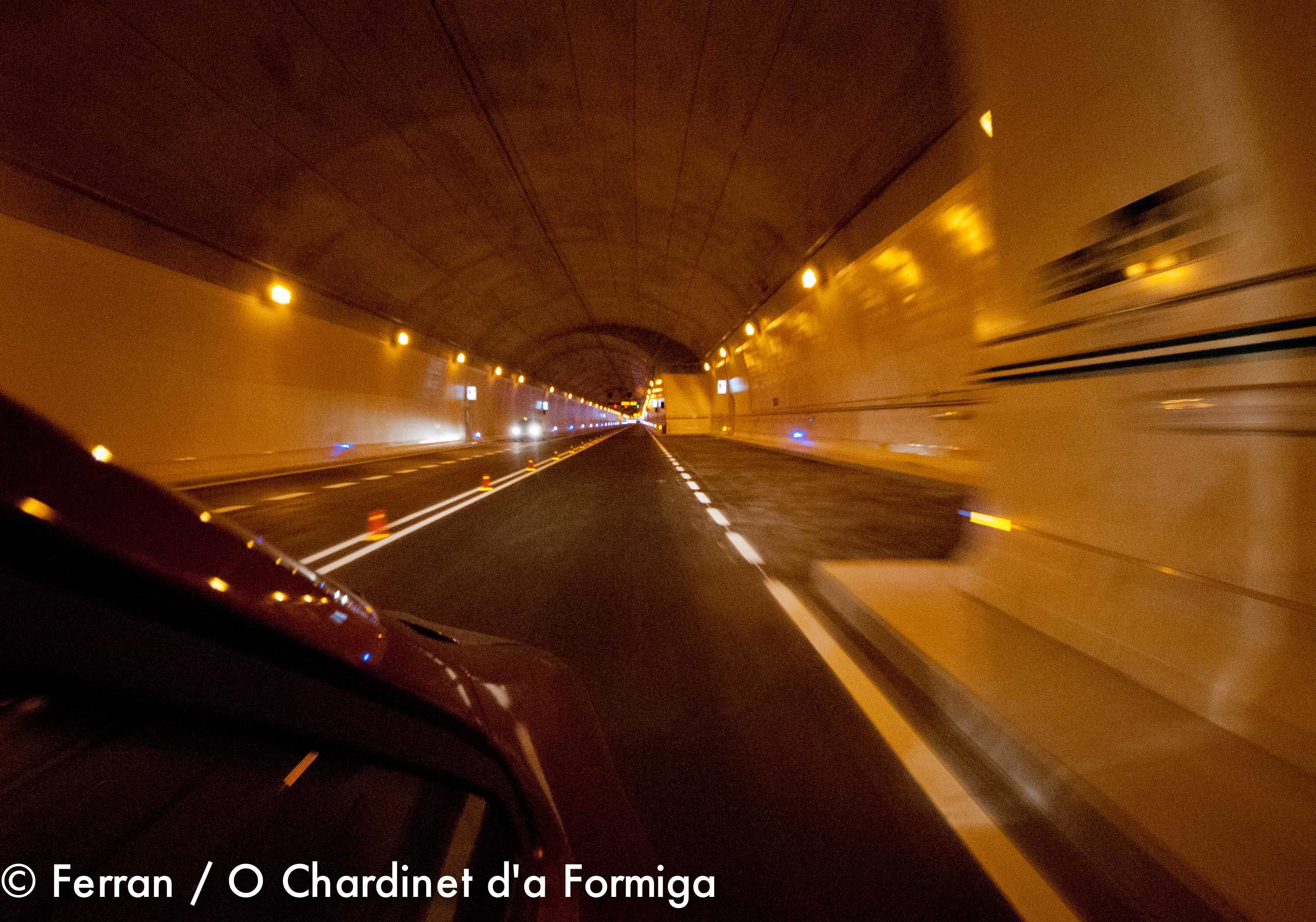 Tunel Sabiñanigo-Fiscal N-260 Eje Pirenaico