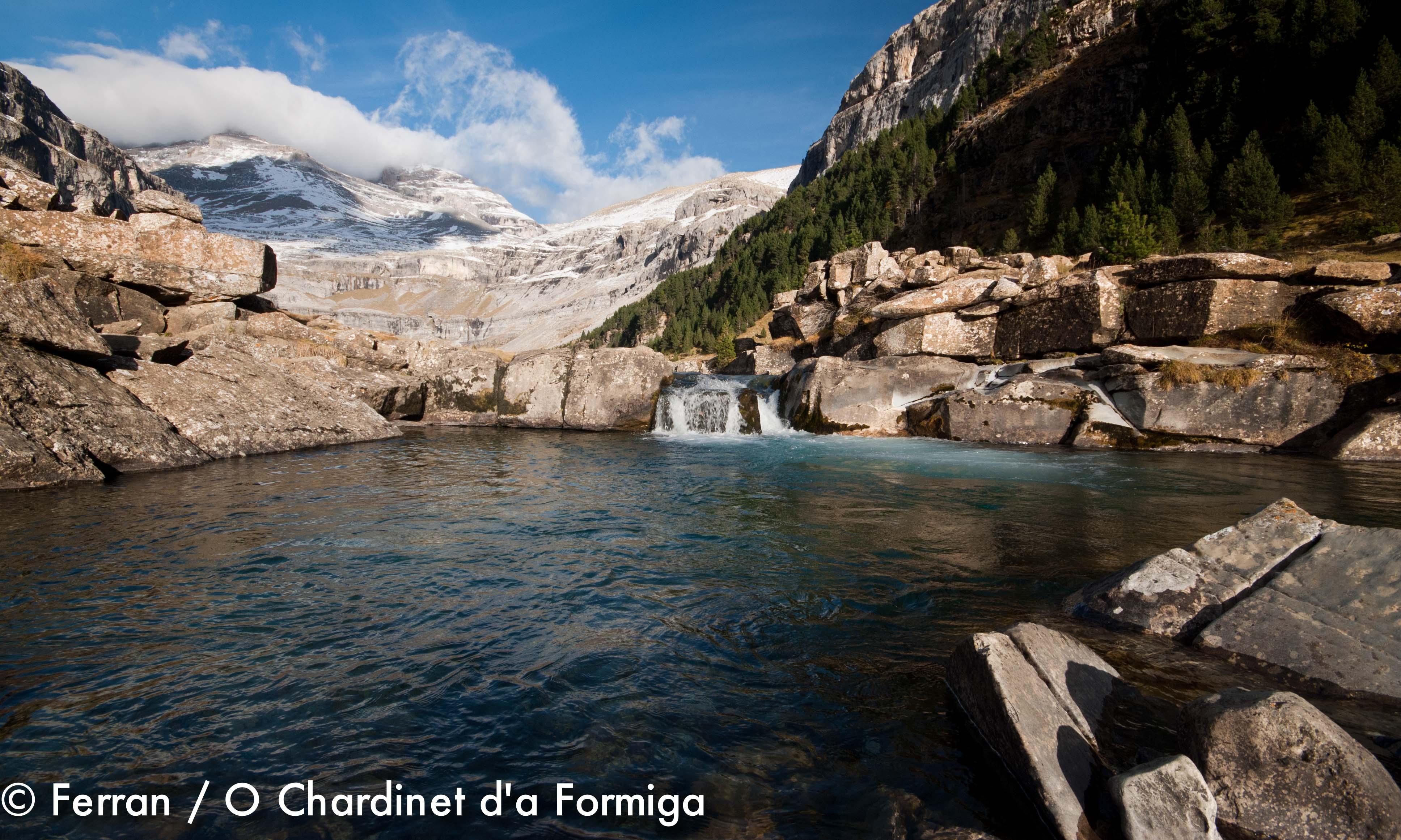 Valle de Ordesa. Parque Nacional. Naturaleza. Senderismo. Aventura. O Chardinet d'a Formiga. Turismo. Pirineo Aragonés. Huesca.